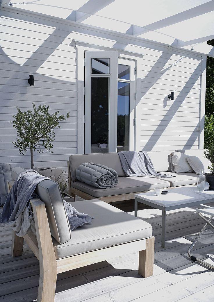 Die besten 25+ Scandinavian outdoor lounge sets Ideen auf - terrasse lounge mobeln einrichten