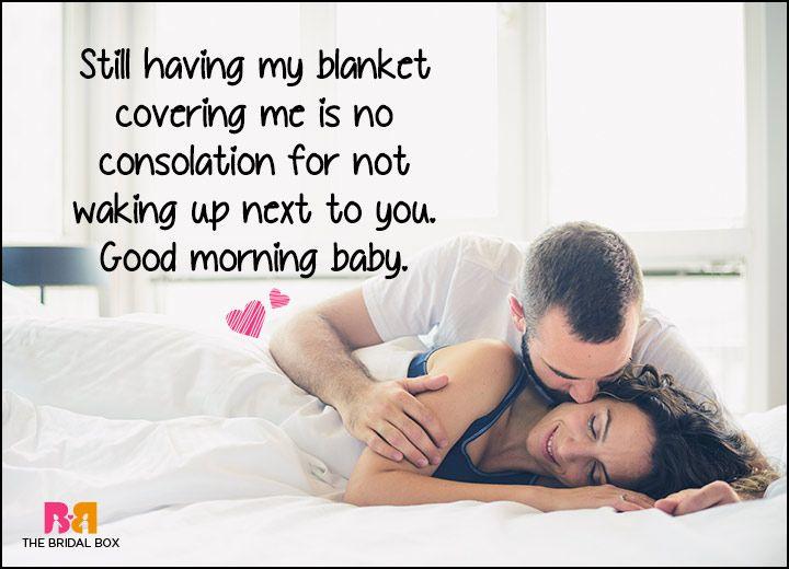Good Morning Love SMS - My Blankey!