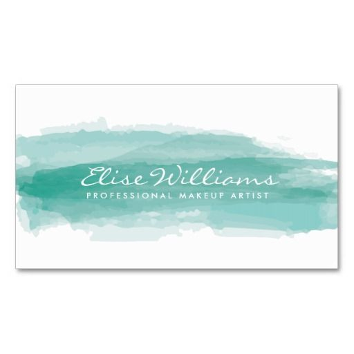 Best 25+ Watercolor business cards ideas on Pinterest