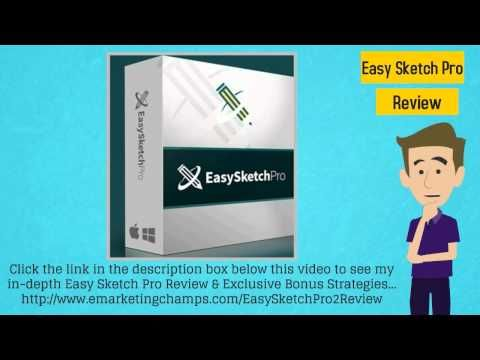 Check out this exclusive review of the Easy Sketch Pro 2.0 Software and learn about the advantages and dis-advantages of this product. -- Easy Sketch Pro --- https://www.youtube.com/watch?v=Ed9PWS1q3sM
