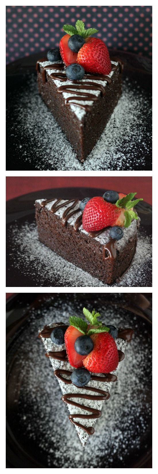 NO-BAKE Chocolate Cake, yes, you steam the cake. Moist, soft, and decadent chocolate cake is possible without an oven! Try the recipe today.