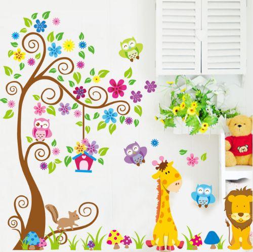 Наклейки на стену в детскую. Нашла здесь - http://ali.pub/xufm8