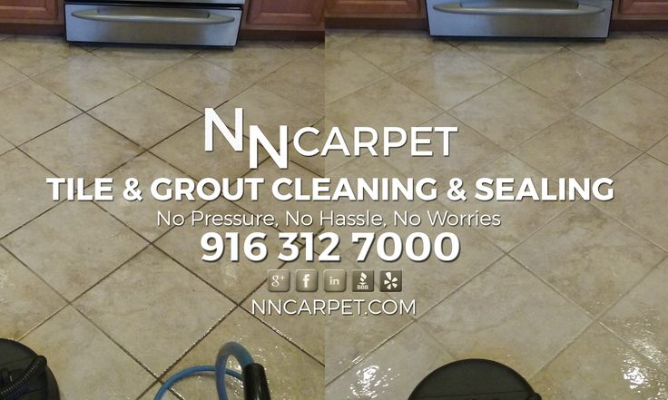Tile & Grout Cleaning & Sealing Services in the City of Rancho Cordova in California