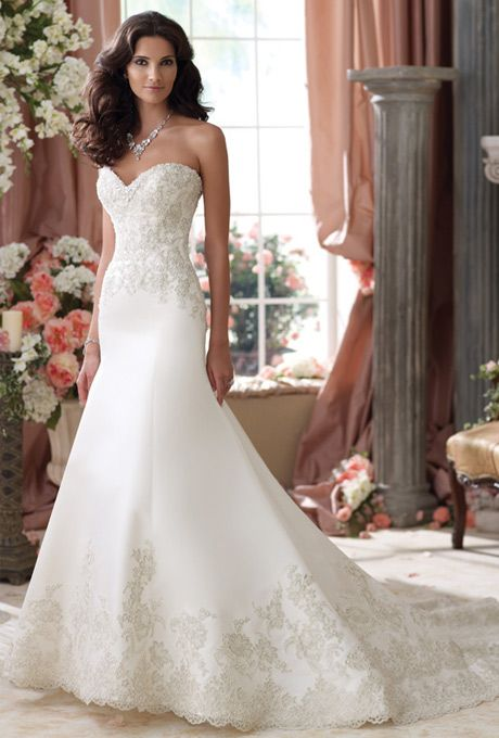 David Tutera for Moncheri - 114279 Isidore - Wedding Dress