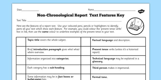 Pin by bk on Non-Chronological Reports Pinterest Texts and - example of chronological order