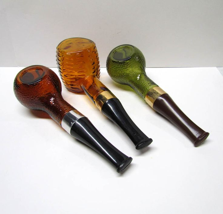 Collection of 3 Vintage Avon Pipe Decanters / Bottles, all 3 are EMPTY - Home Decor - Collectible Avon by VINTAGEandMOREshop on Etsy https://www.etsy.com/listing/246077251/collection-of-3-vintage-avon-pipe