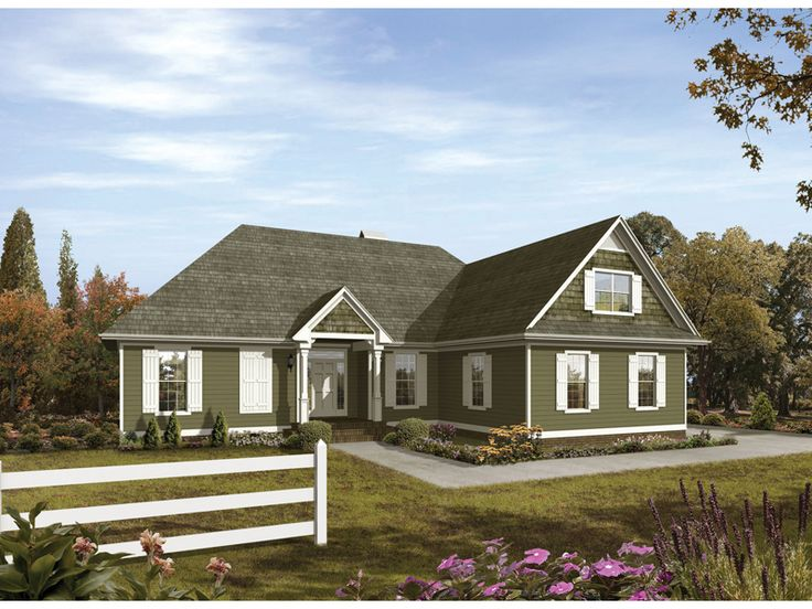 Hollyspring country home from for House plans and more com home plans