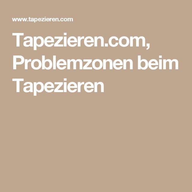 Tapezieren.com, Problemzonen beim Tapezieren