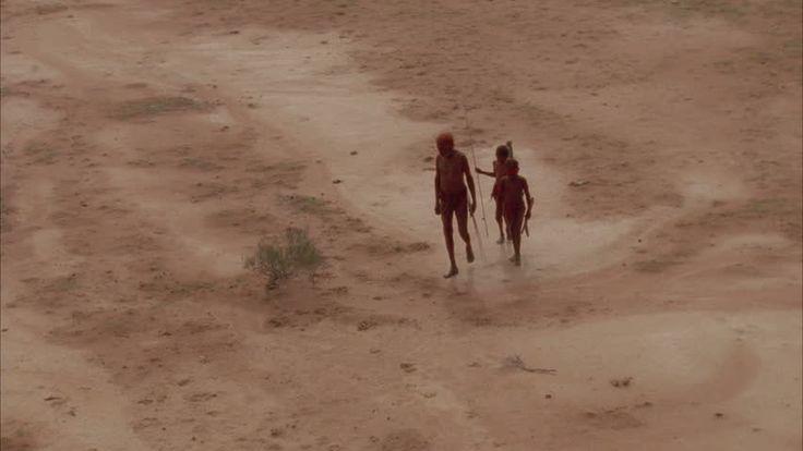 aboriginal tribe walking