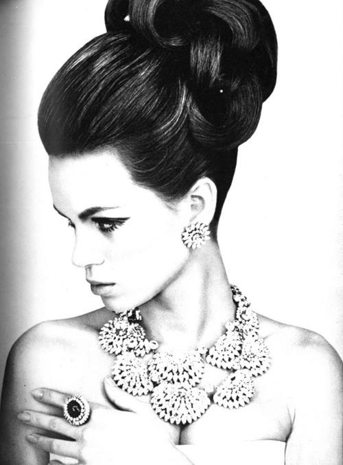 Model Kecia Nyman, 1965    Photo by Guy Bourdin, Vogue UK