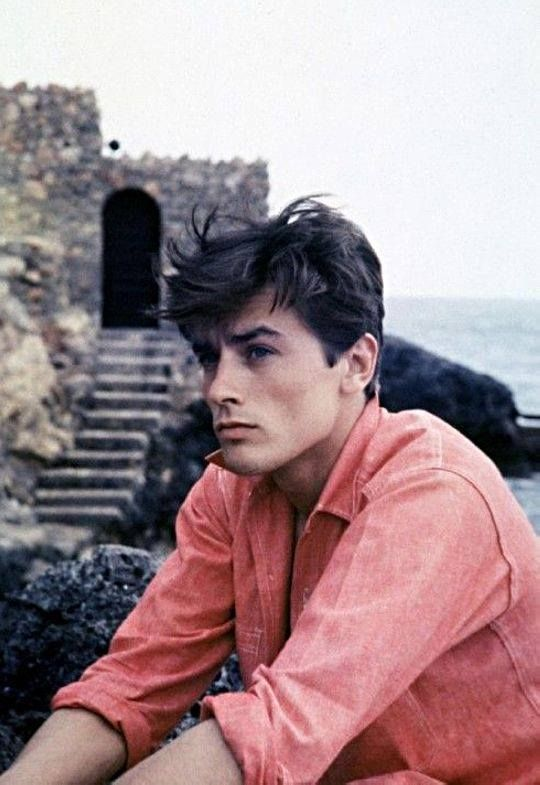 Alain Delon, 1960, during the filming of Purple Noon / Plein soleil