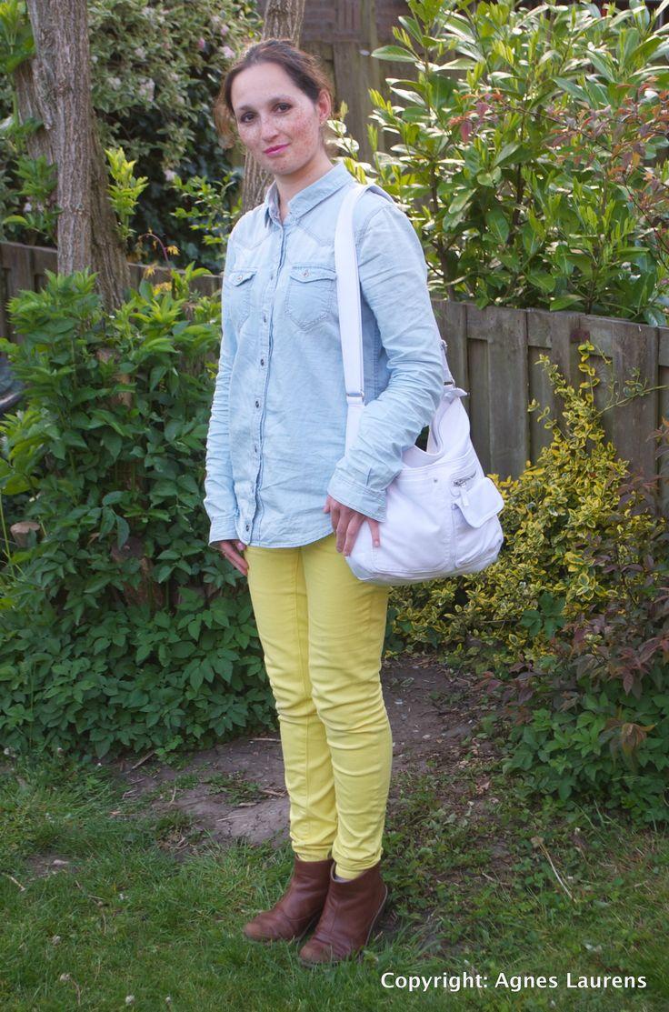 yellow demim