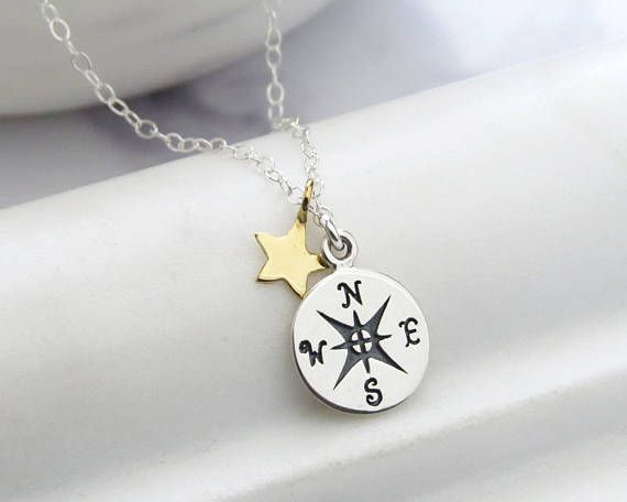 Laurea regalo  bussola & Star fascino collana  regali