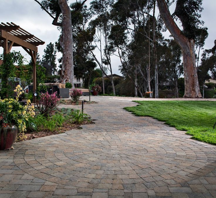 """Paver Patterns + The TOP 5 Patio Pavers Design Ideas = """"Before we get into the Paver Design Ideas, it is important to run through the stone selection. Pavers come in 100s of different combinations of colors, styles, sizes, thicknesses, patterns, and textures."""" Read about the different kinds of pavers!"""