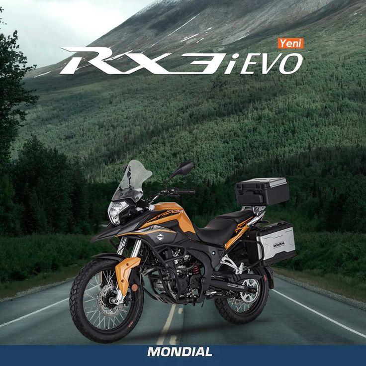 Tasarım, güç ve performansı buluşturan bir tutku; YENİ RX3i Evo www.mondialmotor.com.tr