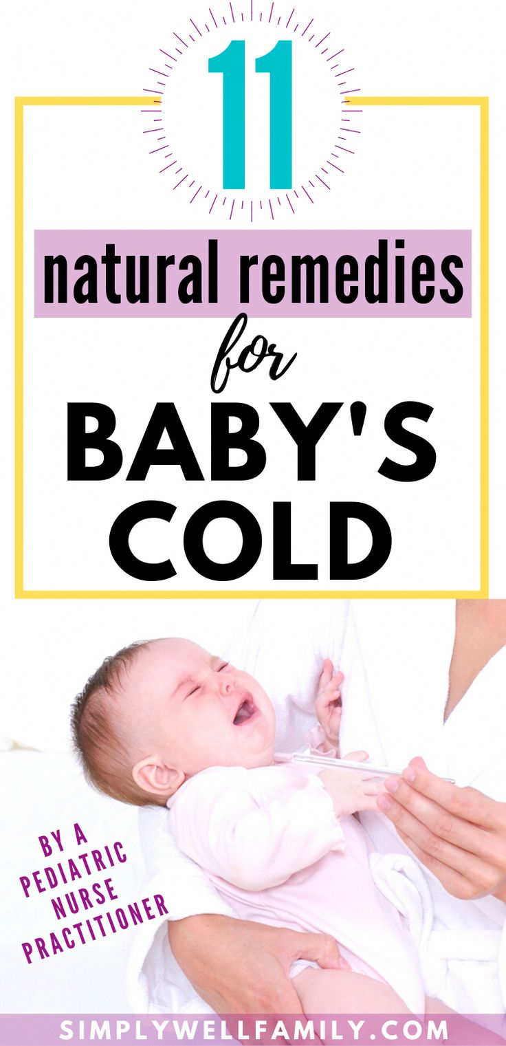 Best Remedies for Baby's Cold in 2020 | Baby cold, Baby ...
