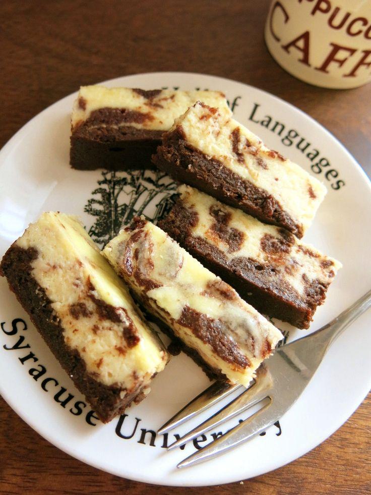 チーズケーキ・ブラウニー - ミセスNewYorkの食卓