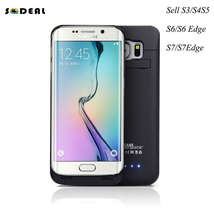 Ultra Slim Portable Backup External Battery Charger Case Powerbank Power Bank Cover For Samsung Galaxy S3 S4 S5 S6 S7 S6/S7 Edge