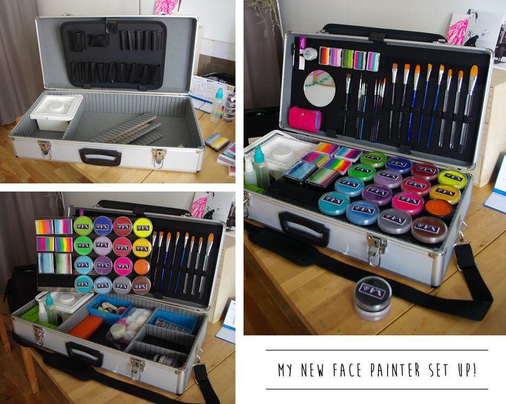My Face Paint set up:)