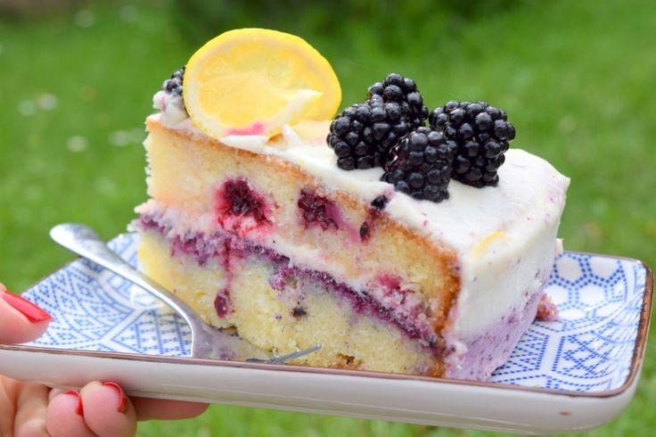 CITRÓNOVÝ DORT S OSTRUŽINAMI bakerbynature.com. na dort o průměru cca 24cm si připravte: 225g másla 200g cukru 1 lžíci citronové kůry…