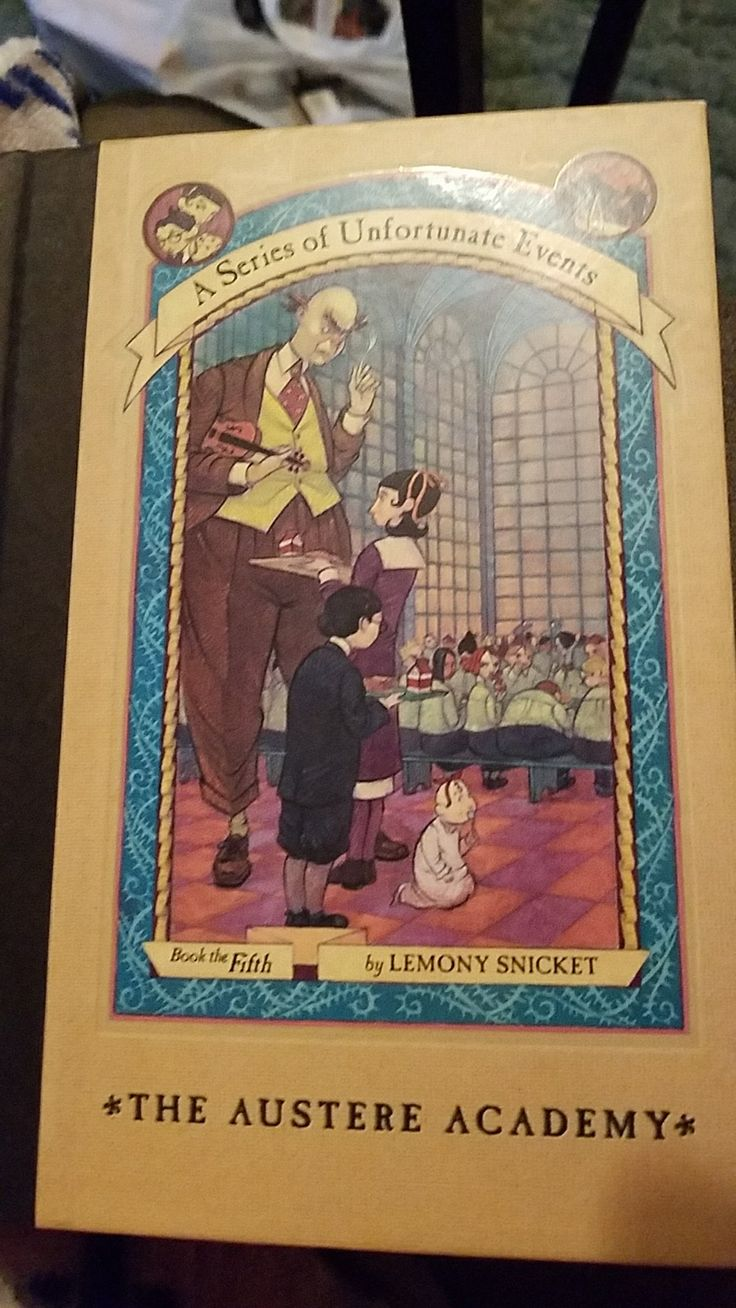 A Series of Unfortunate Events the austere Academy book 5 Lemony Snicket