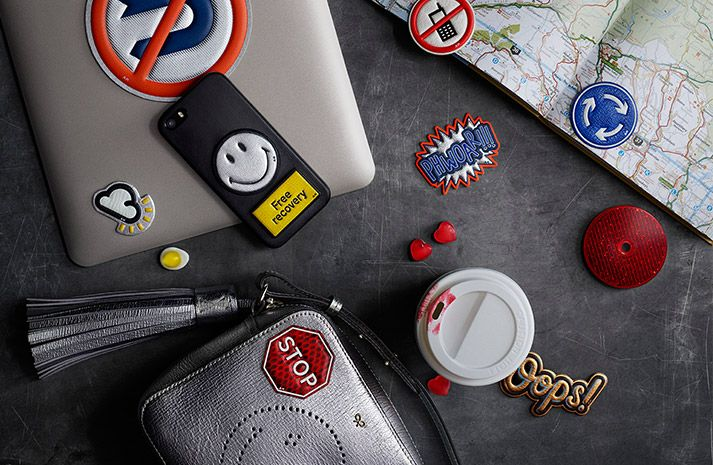 Sticker Shop | Collection of luxurious embossed leather stickers