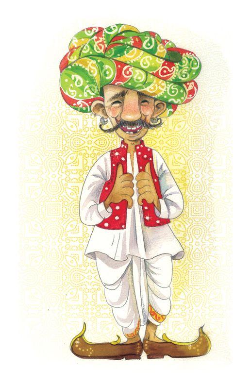 Niloufer Wadia 2016  India, Rajasthan, illustration