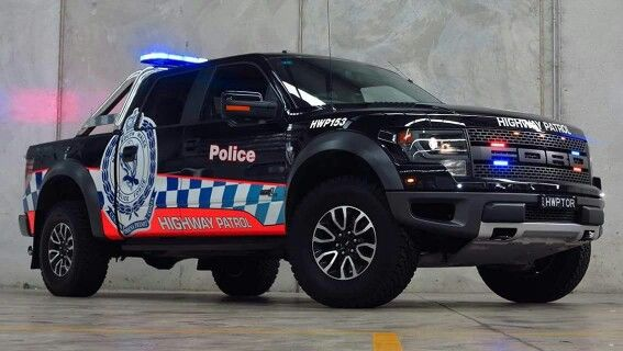 Australian Highway Patrol Ford SVT Raptor