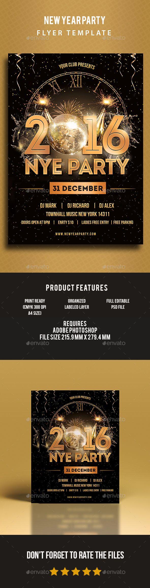 Party Flyer Print Design Design Web Flyer