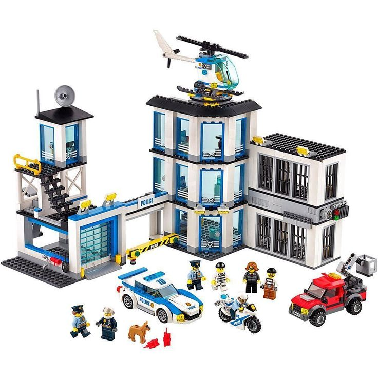 New Lego City Police Station Buildable Toy Set 60141