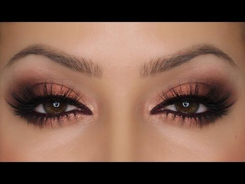Copper Eyes - Zoeva Rose Golden Palette | Valentine's Day MakeUp | Shonagh Scott | ShowMe MakeUp - YouTube