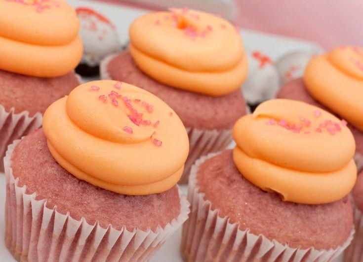 Cupcakes s cukrovou polevou