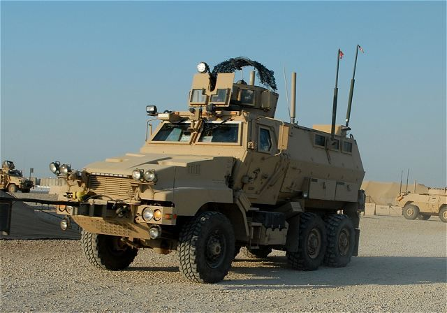 military vehicles   New armor for U.S. Army Caiman armoured vehicle in Iraq against ...