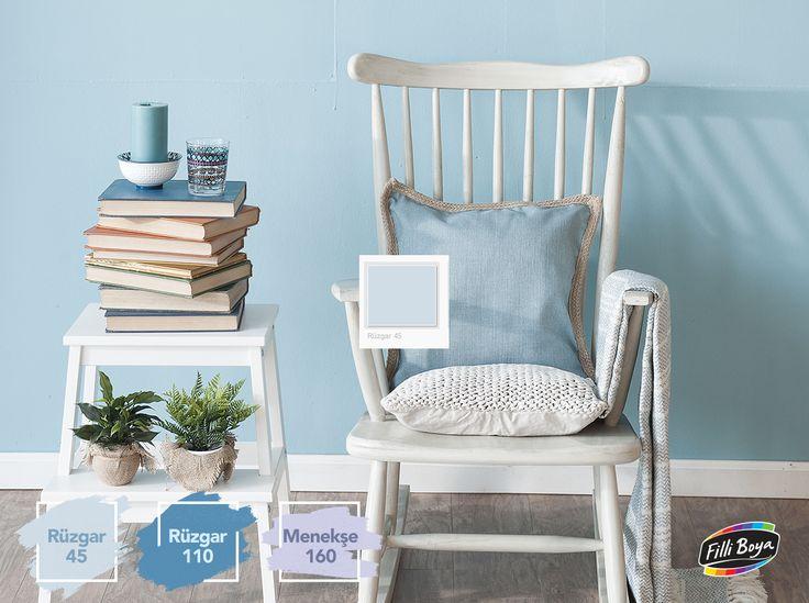 Maviye ve beyaza bürünen, yazın sıcaklığını anımsatan Alaçatı renkleri, Still Sahibi Evler'de evinizin duvarlarında yaşamaya hazır!