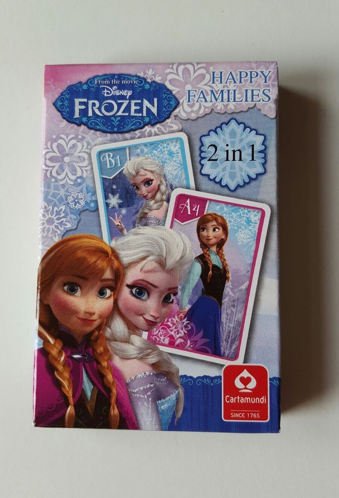 Frozen 2 in 1 Anna and Elsa Disney Cartamundi Happy Families Card Game in Toys & Games, TV & Film Character Toys, Film & Disney Characters | eBay!