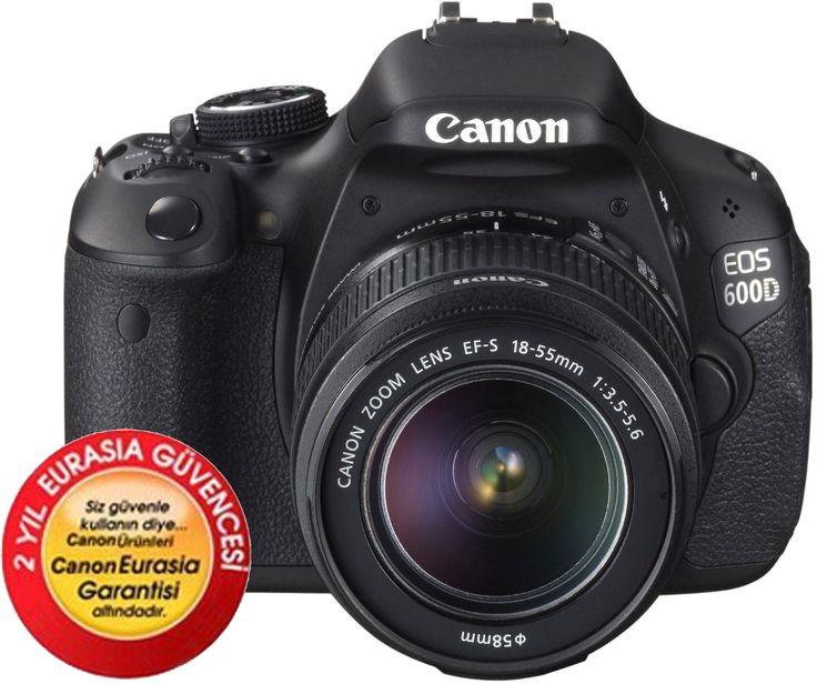 İNANILMAZ FİYAT: 1.199.90tl üstelik kargo bizden.. Canon EOS 600D 18-55mm DC III Dijital SLR Fotoğraf Makinesi :: Uygun Dükkan