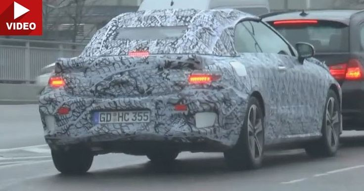 New Mercedes-Benz E-Class Convertible and LWB Scooped #Mercedes_E_Class #Mercedes_Scoops