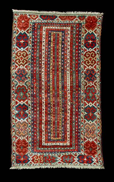 This Very Old Sivas Area Rug Was Made As A Meditation Rug