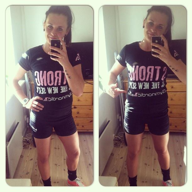 #Gymnordic #Girl #Strongisthenewsexy #tshirt