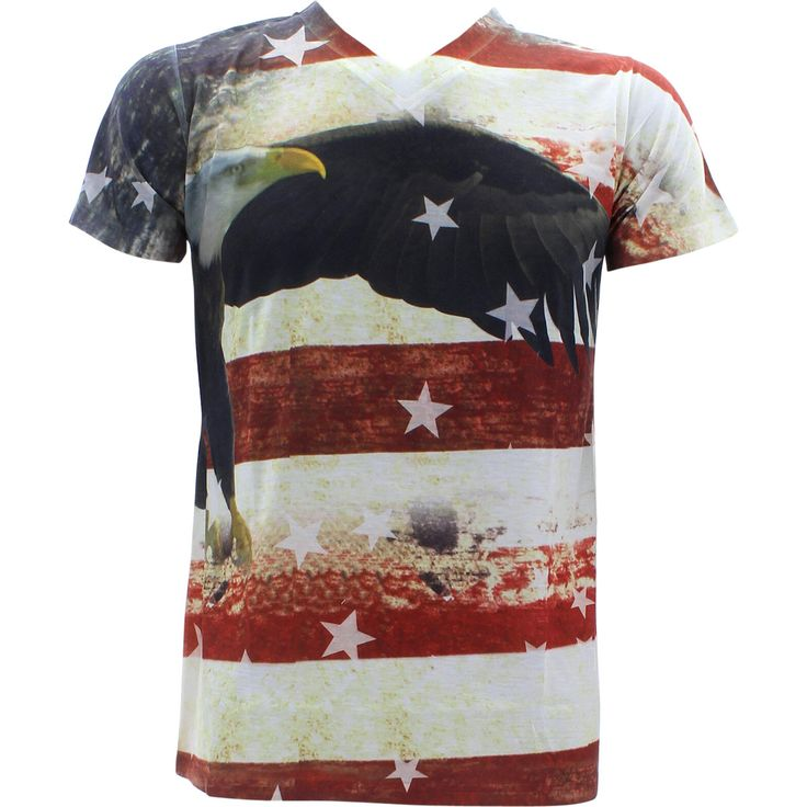 rock flag eagle shirt