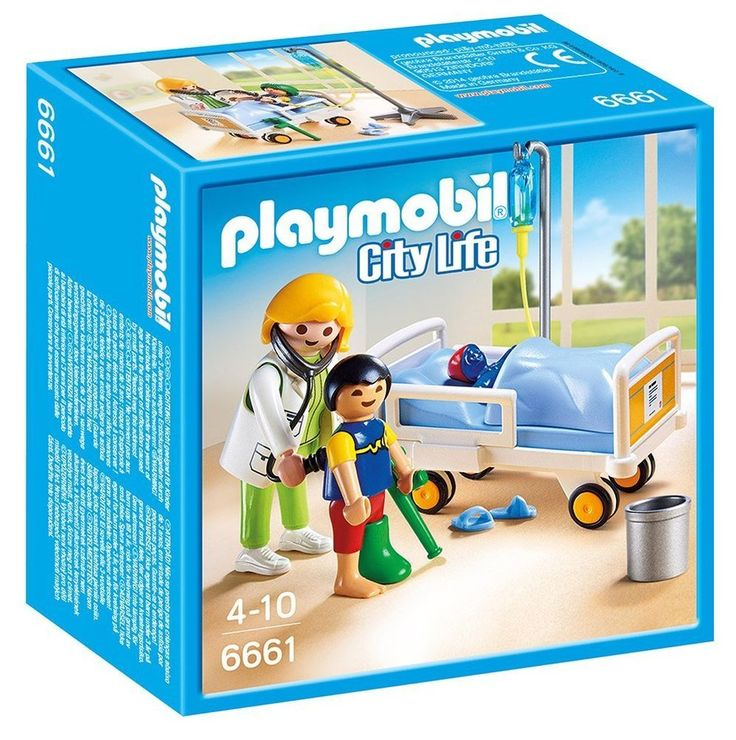 Playmobil Doctor Child Playset Toy Fun Time Kids Hospital Learn Playing Home Set #PLAYMOBIL