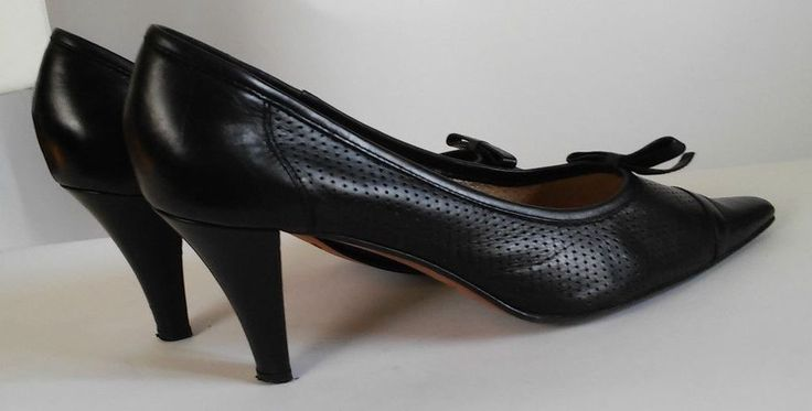 ROSSI GINO  Ladies Shoe Lace Up Fabric Leather Sole Evening Dres SIZE 39 #ROSSIGINO #Stilettos