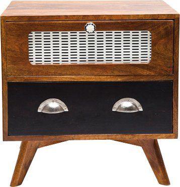 Chevet style radio RETRO en bois