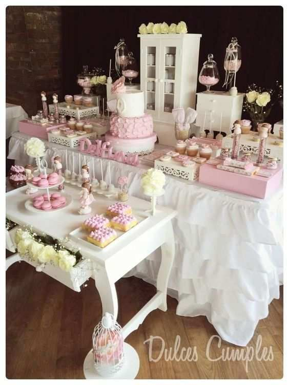 decoracion de primera comunion para niñas