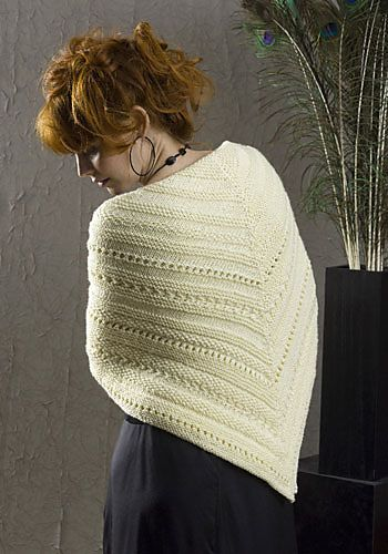 Free Pattern: Santa Barbara Wrap by Marilyn Losee