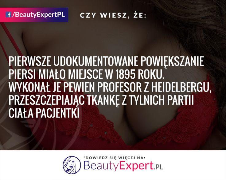 Powiększyłybyście swoje piersi w ten sposób? A może wolicie implanty? :) #BeautyExpert #PowiększaniePiersi #PowiększanieBiustu #Ciekawostki#Medyczne