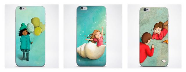 Asas de peixe - iPhone Cases