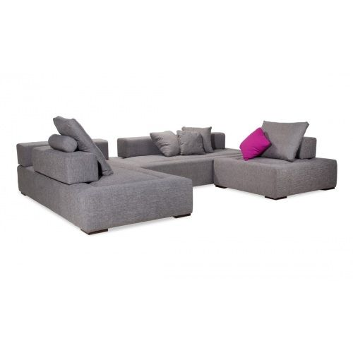 ecksofa roxbury iv grau 300x200 cm g nstig online kaufen. Black Bedroom Furniture Sets. Home Design Ideas