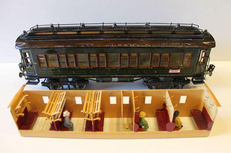 1951- Originaler Märklin Spur 1 D-Zug 1931 G mit Inneneinrichtung!