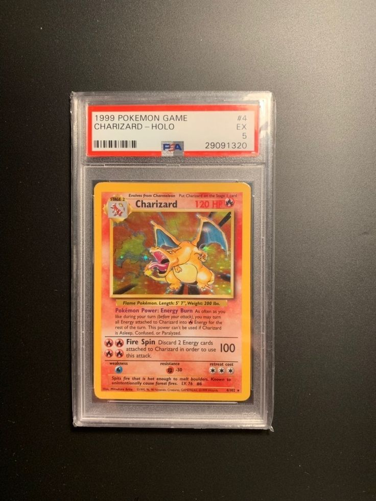 Great deal will negotiate price 1999 charizard 20 first